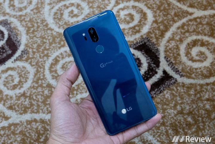 Cận cảnh LG G7+ ThinQ tại Việt Nam: Bản nâng cấp của V30?