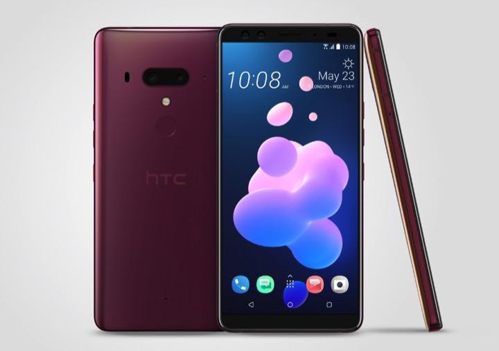 HTC chính thức ra mắt U12+ : Vỏ xuyên thấu, 4 camera, viền khá mỏng, giá 18 triệu