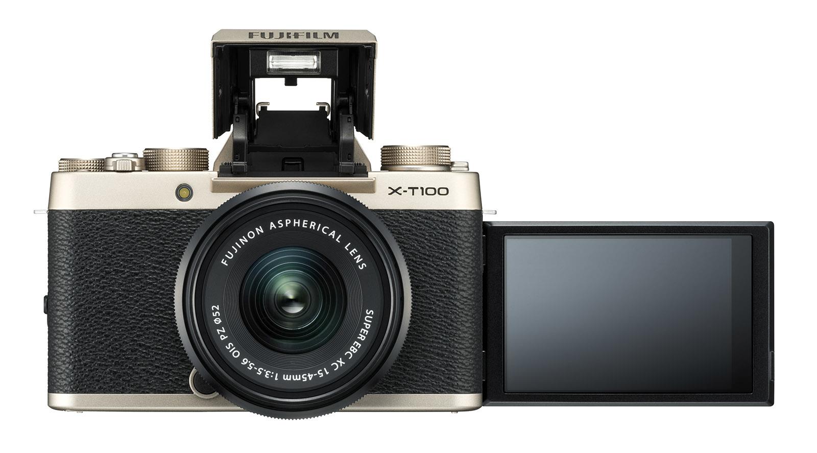 Fujifilm vừa hé lộ X-T100 - một chiếc máy ảnh không gương lật khá thú vị với cấu hình tương tự mẫu giá rẻ X-A5, nhưng lại có ngoại hình giống X-T20.