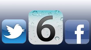 Facebook sẽ được tích hợp sâu vào iOS 6