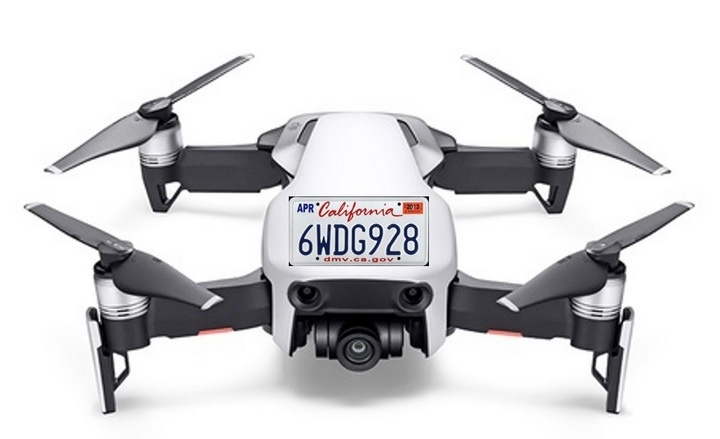 Mỹ muốn gắn biển số cho...drone giống như trên xe máy, ôtô để tiện kiểm soát