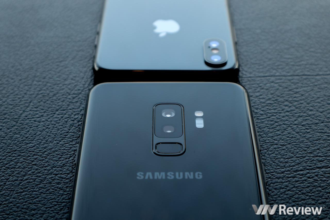 6 điểm Galaxy S9+ trội hơn iPhone X