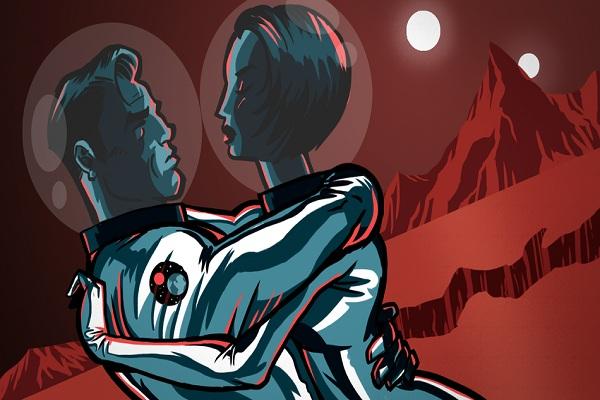 Hoạt động tình dục trên Sao Hỏa sẽ rất nguy hiểm, nhưng nó có thể tạo ra phân loài mới của con người