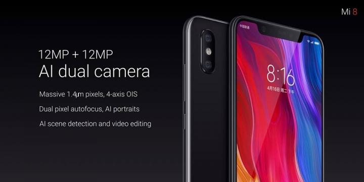 Thông số và cấu hình chính thức của Xiaomi Mi 8