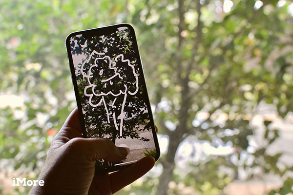 """""""Just a Line"""" - ứng dụng AR cho phép vẽ hình trong không khí và hiện kết quả trên điện thoại"""