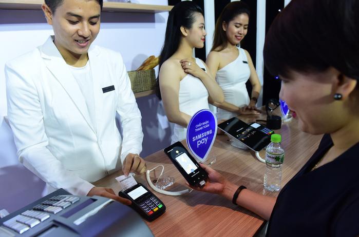 ngân hàng liên kết với samsung pay