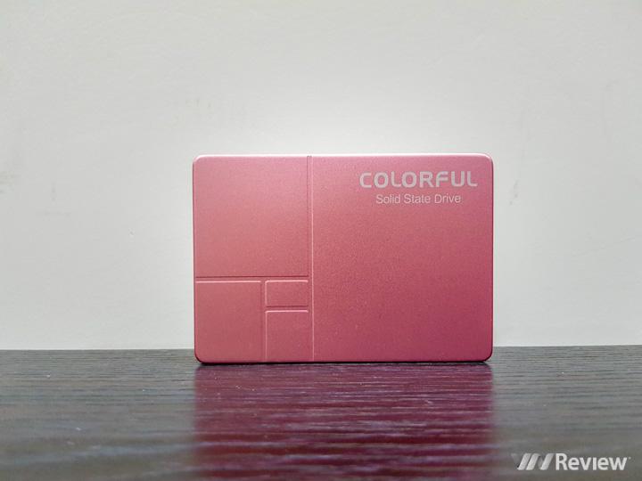 Đánh giá nhanh SSD Colorful SL300 160GB: giá hấp dẫn, hiệu năng ổn