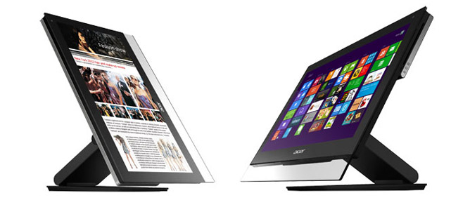 Computex 2012: Acer giới thiệu 2 mẫu All-in-One PC màn hình cảm ứng