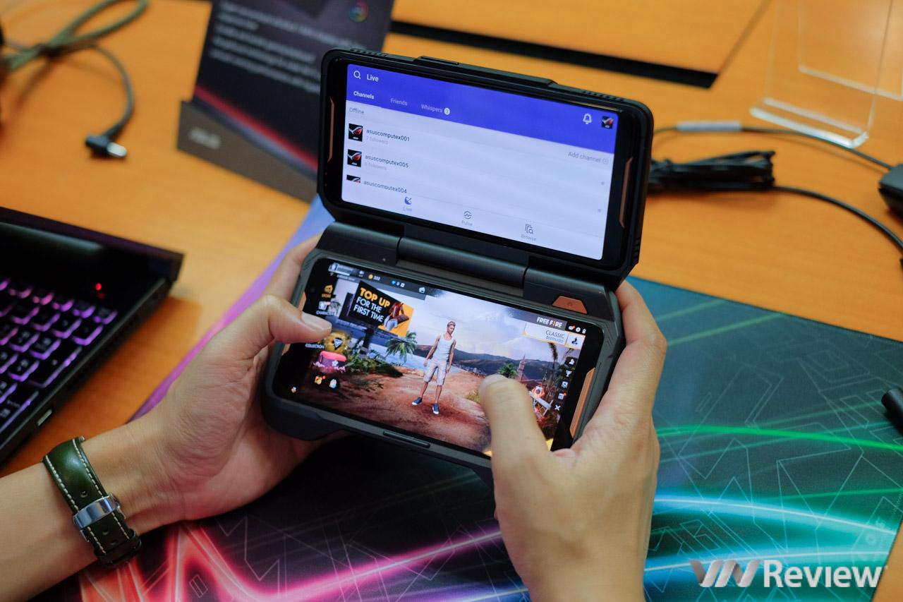 Trên tay ROG Phone - điện thoại chuyên game tối tân của Asus với hàng loạt tính năng độc lạ