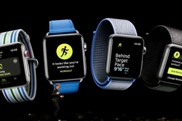 Apple watchOS 5 tập trung vào hoạt động thể thao và Siri