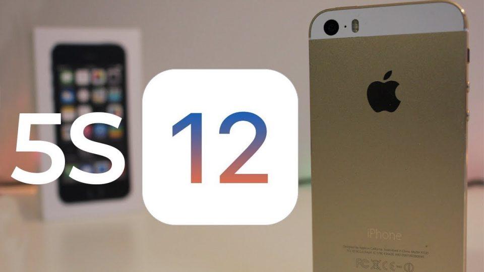 iOS 12 hỗ trợ toàn bộ thiết bị đang chạy iOS 11, kể cả iPhone 5s
