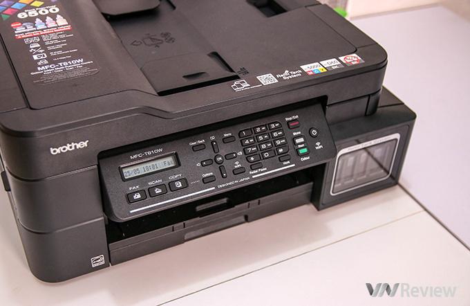 Đánh giá nhanh máy in phun màu Brother MFC-T810W: đa năng, in tốc độ, giá 5.9 triệu đồng