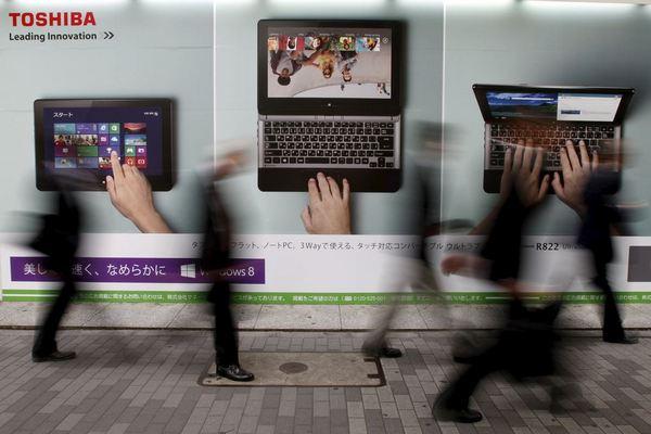 Sharp sẽ mua lại mảng PC của Toshiba với giá 36 triệu USD sau 8 năm vắng bóng