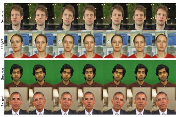 AI nay đã có thể tái tạo cử động khuôn mặt từ người này sang người khác