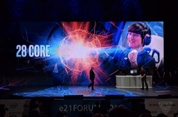 """Intel sẽ bán ra """"quái vật"""" CPU 28 nhân 5GHz vào cuối năm nay"""