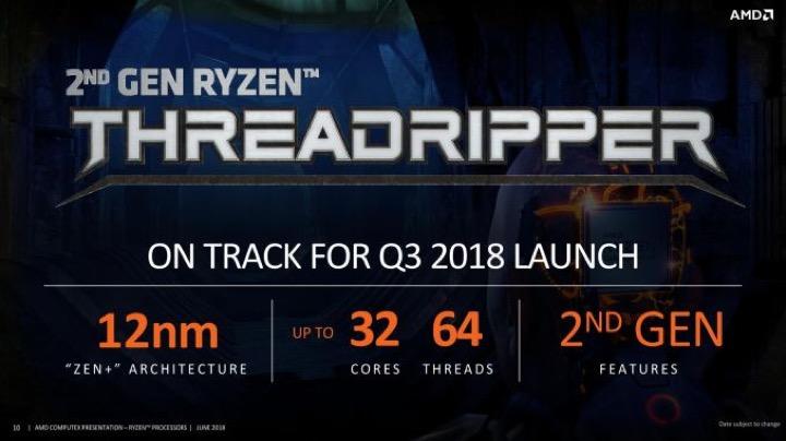 AMD ra mắt CPU Threadripper thế hệ thứ 2, lên tới 32 nhân xử lý
