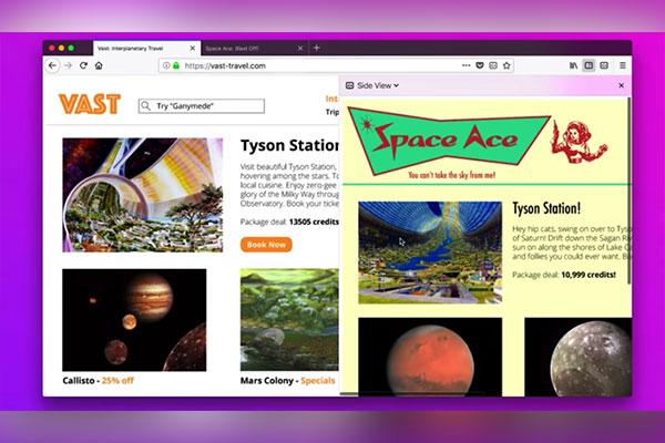 Firefox thêm tính năng duyệt song song 2 tab, tùy biến giao diện theo sở thích