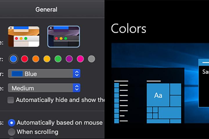"Giao diện tối của macOS Mojave biến giao diện tối của Windows 10 thành một ""trò hề"""