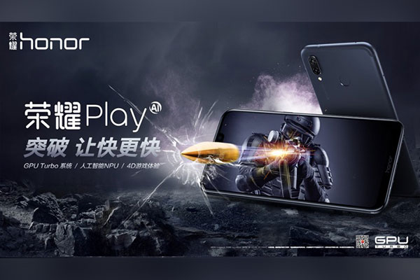 Thêm một smartphone chơi game nữa trình làng: Honor Play