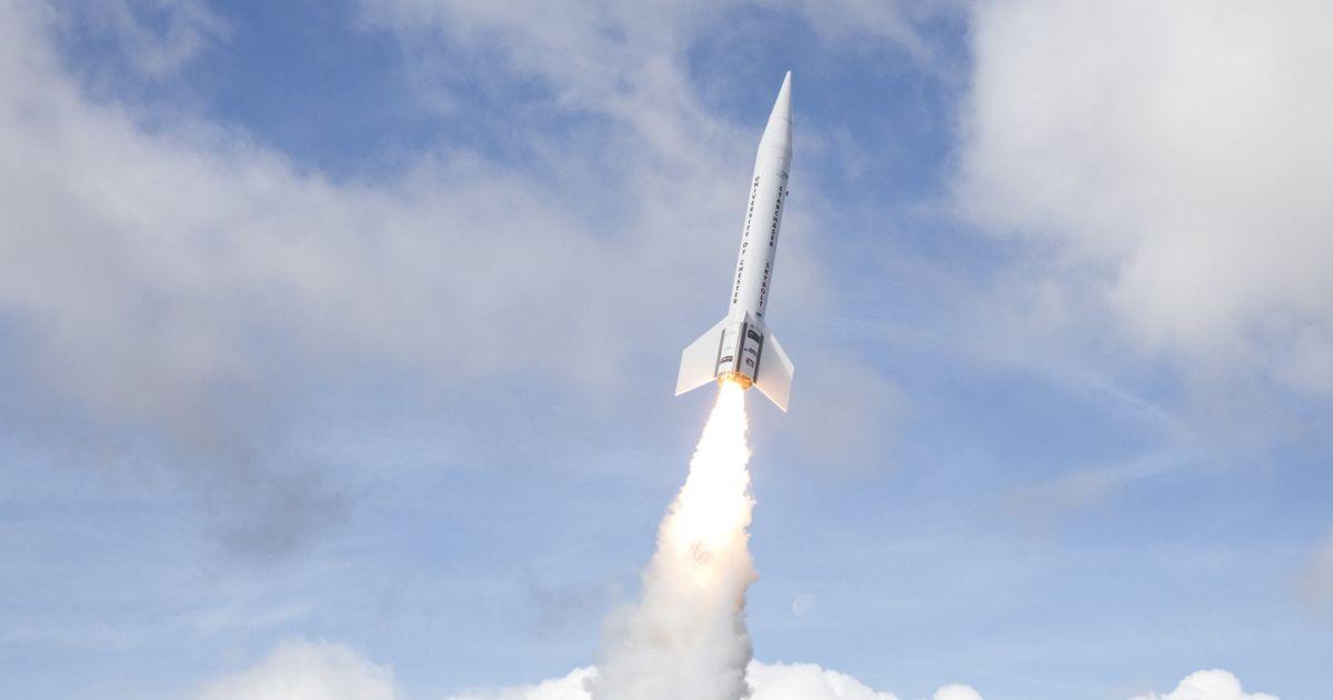 Tên lửa bay bằng nhiên liệu từ… kẹo dẻo
