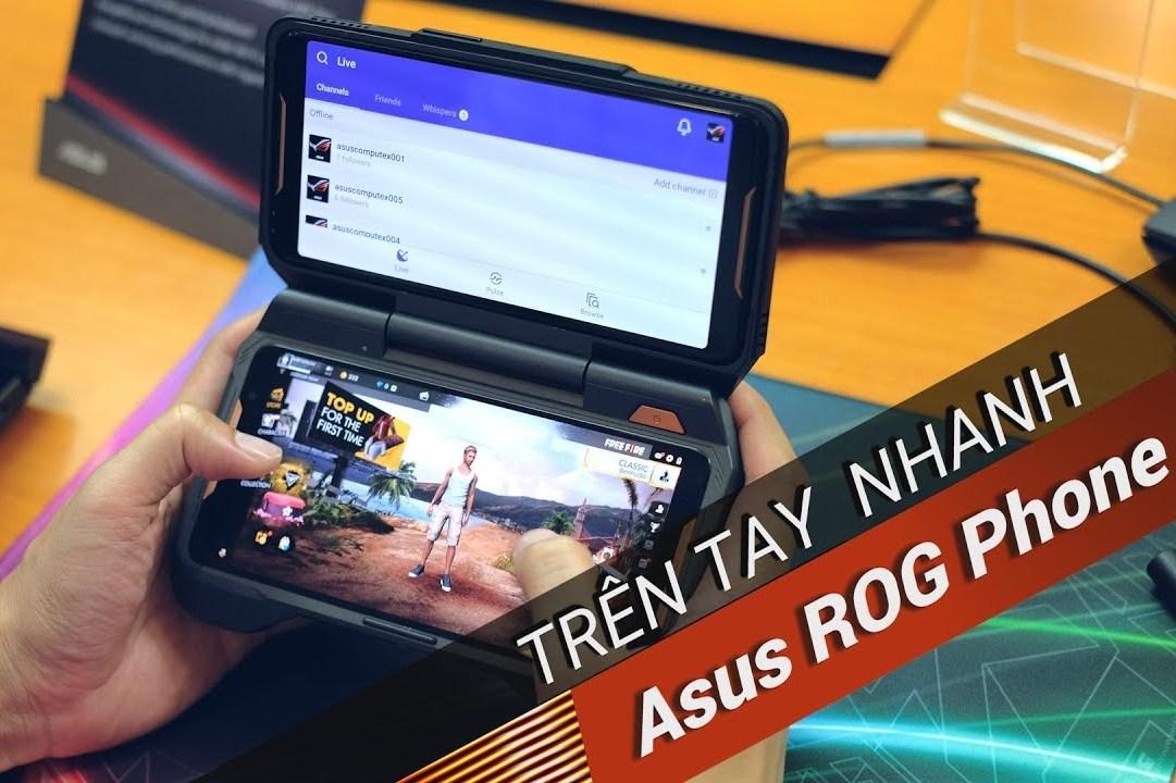 Trên tay Asus ROG Phone: Điện thoại chuyên game tối tân với hàng loạt tính năng độc lạ