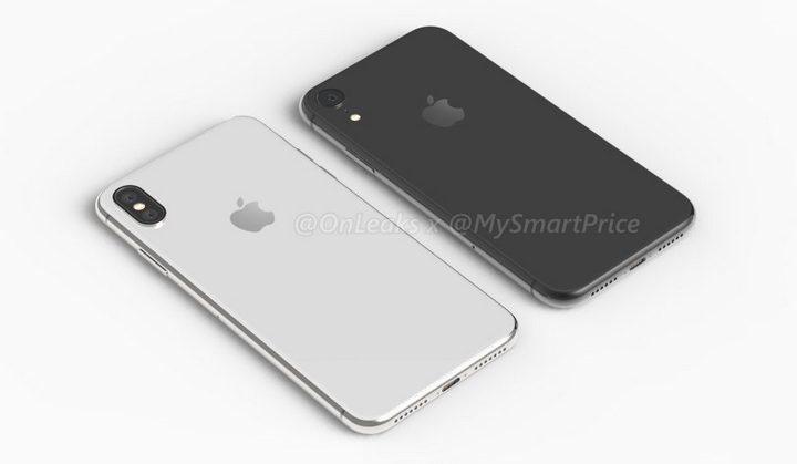 iPhone X Plus 6.5 inch và iPhone 6.1 inch LCD lộ ảnh dựng rõ nét