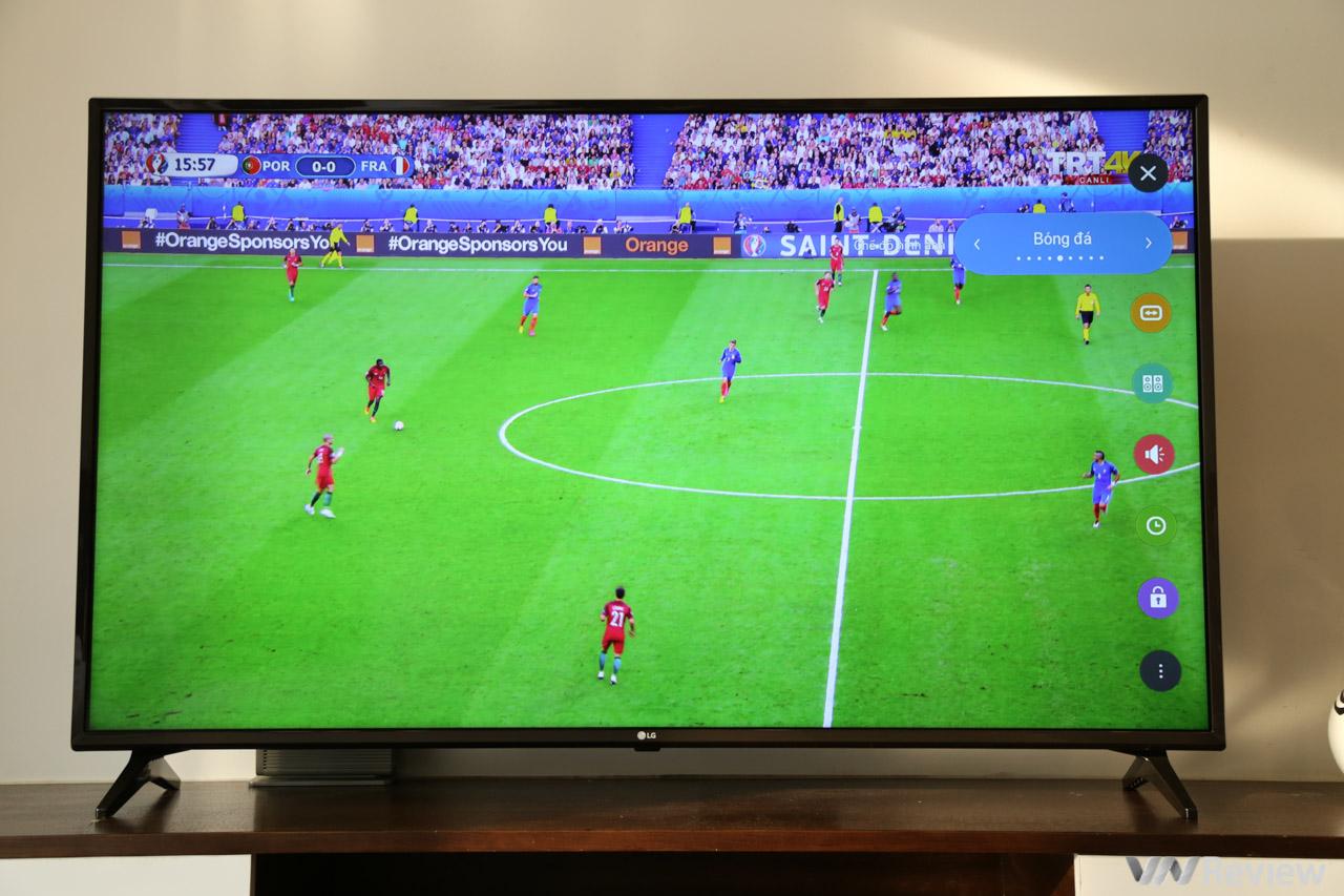 Trên tay TV 4K HDR chuyên dụng cho bóng đá: LG 55UK6100PTA Football Edition 1815196
