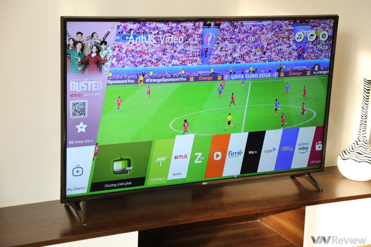 Trên tay TV 4K HDR chuyên dụng cho bóng đá: LG 55UK6100PTA Football Edition 1815214