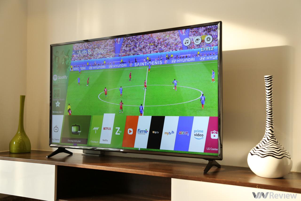 Trên tay TV 4K HDR chuyên dụng cho bóng đá: LG 55UK6100PTA Football Edition 1815223