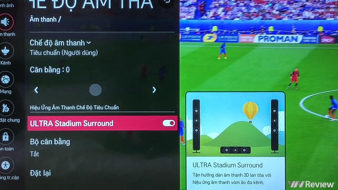 Trên tay TV 4K HDR chuyên dụng cho bóng đá: LG 55UK6100PTA Football Edition 1815259