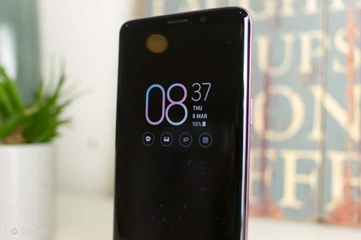 Samsung sẽ nhúng loa thoại vào màn hình Galaxy S10?