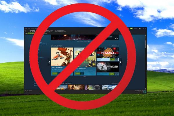"""Hàng trăm ngàn người dùng Windows XP đứng trước nguy cơ phải """"chia tay"""" nền tảng Steam"""