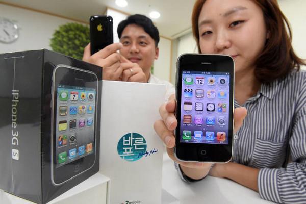 Nhà mạng Hàn Quốc tái mở bán iPhone 3GS với giá chỉ 40 USD