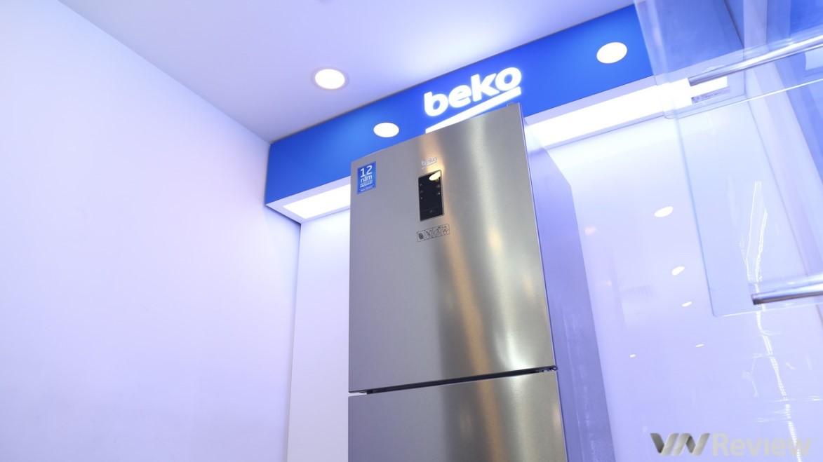 Đánh giá tủ lạnh Beko RTNT340E50VZX: 3 cửa - 3 dàn lạnh độc lập, giá 12.9 triệu đồng