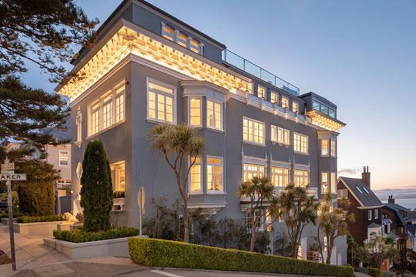 """Bên trong """"lâu đài"""" giá 30 triệu USD tại San Francisco có gì?"""