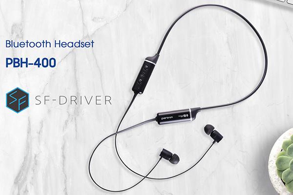 Partron ra mắt tai nghe Bluetooth PBH-400: driver thế hệ mới, hỗ trợ aptX, giá 1.69 triệu đồng