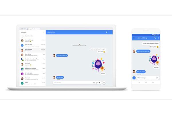 Google chính thức giới thiệu Android Messages cho trình duyệt web