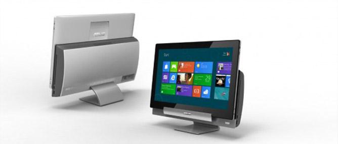 Computex 2012: Asus AIO PC 18 inch có thể biến thành tablet