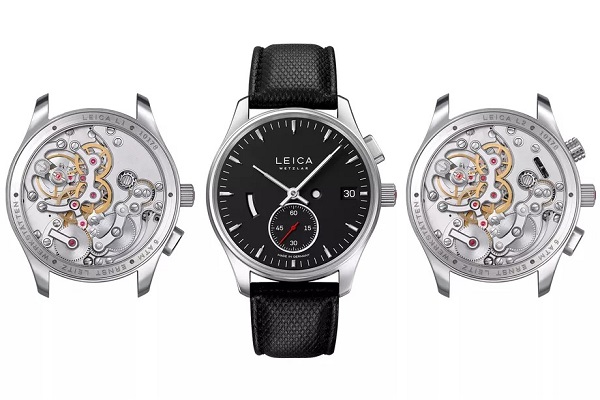 Leica ra mắt 2 mẫu đồng hồ đầu tiên, tự hãng thiết kế và chế tạo, giá dưới 270 triệu đồng