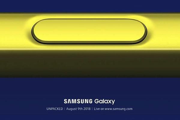 Samsung chính thức ra mắt Galaxy Note 9 vào ngày 9/8
