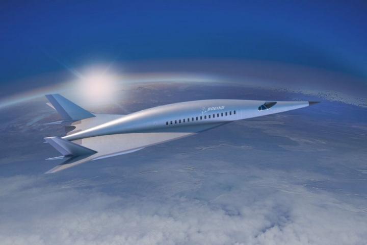Máy bay siêu thanh của Boeing sẽ giúp giảm thời gian bay đến 85%