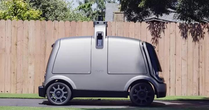 Chiếc xe giao hàng tự động này sẽ hi sinh thân mình để cứu người đi bộ