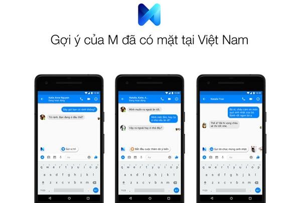 Facebook thêm tính năng gợi ý thông minh cho người dùng Messenger tại Việt Nam