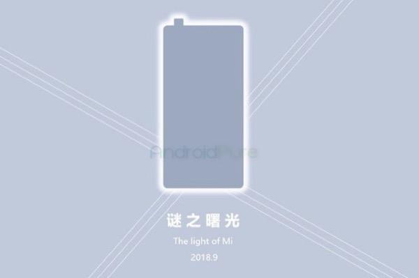 """Xiaomi Mi MIX 3 sẽ ra mắt vào tháng 9, camera selfie """"thò thụt"""" như Vivo Nex?"""