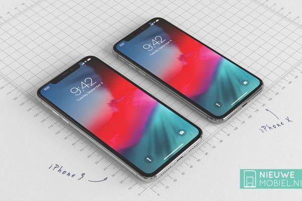 """Ảnh render iPhone 2018 bản giá rẻ """"đẹp mê ly"""" bên cạnh iPhone X thế hệ mới"""
