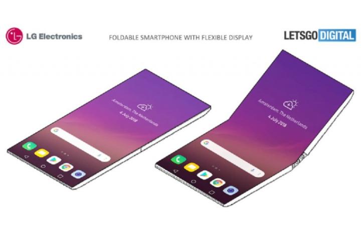 LG nhảy vào cuộc chơi smartphone gập với bằng sáng chế gập đứng truyền thống