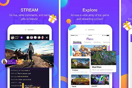 Mạng xã hội LiveMe ra mắt dịch vụ live stream eSport Fluxr