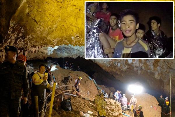 Cách nhanh nhất giải cứu đội bóng Thái Lan mắc kẹt trong hang động là... đánh thuốc mê các nạn nhân