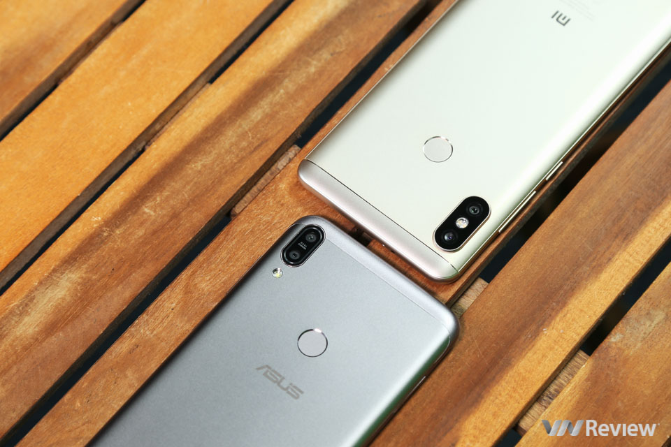 Đọ hiệu năng chi tiết Asus Zenfone Max Pro và Xiaomi Redmi Note 5