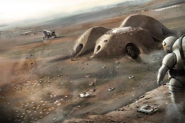 Đây là những hình ảnh trong tương lai nếu con người làm chủ Sao Hỏa và Mặt Trăng